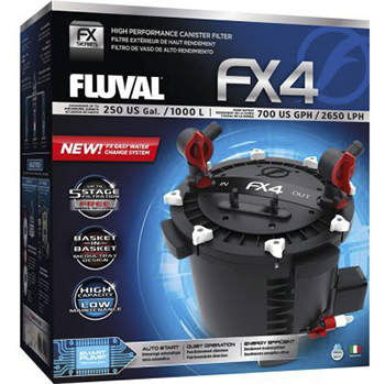 fluval FX4 canister filter box components