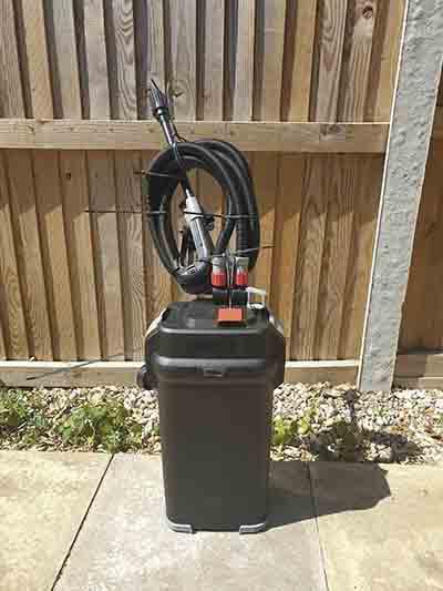 fluval 407 external filter tank gallons