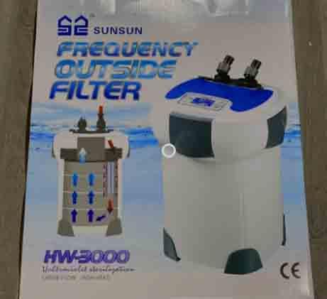 sunsun hw-3000 box and manual